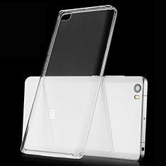 Cover Silicone Trasparente Ultra Slim Morbida per Xiaomi Mi Note Chiaro