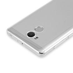 Cover Silicone Trasparente Ultra Slim Morbida per Xiaomi Redmi 4 Prime High Edition Chiaro