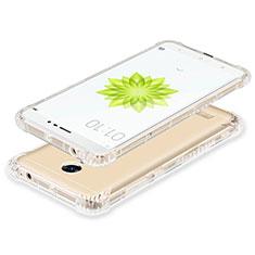 Cover Silicone Trasparente Ultra Slim Morbida per Xiaomi Redmi Note 3 Chiaro