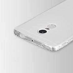 Cover Silicone Trasparente Ultra Slim Morbida per Xiaomi Redmi Note 4 Chiaro