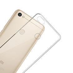 Cover Silicone Trasparente Ultra Slim Morbida per Xiaomi Redmi Y1 Chiaro