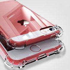 Cover Silicone Trasparente Ultra Sottile Morbida H04 per Apple iPhone 5 Chiaro
