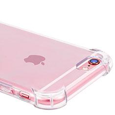 Cover Silicone Trasparente Ultra Sottile Morbida H07 per Apple iPhone 6S Plus Chiaro
