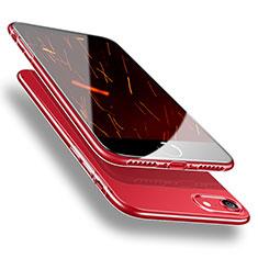 Cover Silicone Trasparente Ultra Sottile Morbida H09 per Apple iPhone 8 Chiaro