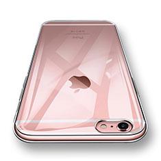 Cover Silicone Trasparente Ultra Sottile Morbida H10 per Apple iPhone 6 Plus Chiaro