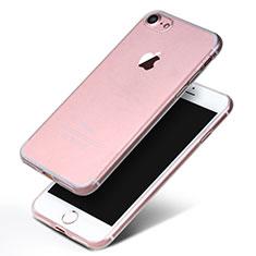 Cover Silicone Trasparente Ultra Sottile Morbida H10 per Apple iPhone 8 Chiaro