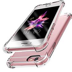 Cover Silicone Trasparente Ultra Sottile Morbida H14 per Apple iPhone 6S Chiaro