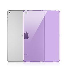 Cover Silicone Trasparente Ultra Sottile Morbida per Apple iPad Pro 12.9 Viola