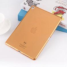 Cover Silicone Trasparente Ultra Sottile Morbida per Apple iPad Pro 9.7 Oro
