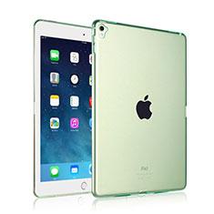 Cover Silicone Trasparente Ultra Sottile Morbida per Apple iPad Pro 9.7 Verde