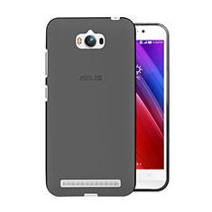 Cover Silicone Trasparente Ultra Sottile Morbida per Asus Zenfone Max ZC550KL Grigio