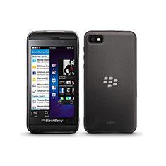 Cover Silicone Trasparente Ultra Sottile Morbida per Blackberry Z10 Grigio