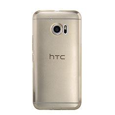 Cover Silicone Trasparente Ultra Sottile Morbida per HTC 10 One M10 Oro