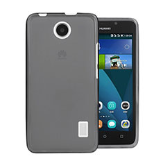 Cover Silicone Trasparente Ultra Sottile Morbida per Huawei Ascend Y635 Grigio