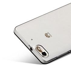 Cover Silicone Trasparente Ultra Sottile Morbida per Huawei G Play Mini Grigio