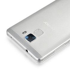 Cover Silicone Trasparente Ultra Sottile Morbida per Huawei Honor 7 Chiaro