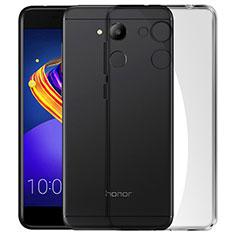 Cover Silicone Trasparente Ultra Sottile Morbida per Huawei Honor V9 Play Grigio
