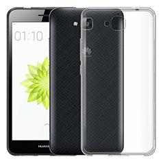 Cover Silicone Trasparente Ultra Sottile Morbida per Huawei Y6 Pro Chiaro