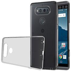 Cover Silicone Trasparente Ultra Sottile Morbida per LG V20 Grigio