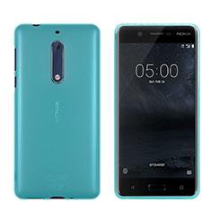 Cover Silicone Trasparente Ultra Sottile Morbida per Nokia 5 Blu