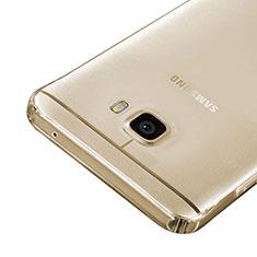 Cover Silicone Trasparente Ultra Sottile Morbida per Samsung Galaxy C7 SM-C7000 Oro