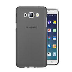 Cover Silicone Trasparente Ultra Sottile Morbida per Samsung Galaxy J5 (2016) J510FN J5108 Grigio