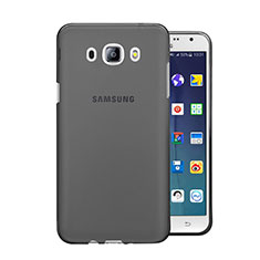 Cover Silicone Trasparente Ultra Sottile Morbida per Samsung Galaxy J5 Duos (2016) Grigio