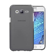 Cover Silicone Trasparente Ultra Sottile Morbida per Samsung Galaxy J5 SM-J500F Grigio