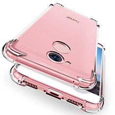 Cover Silicone Trasparente Ultra Sottile Morbida R01 per Huawei Honor 6A Chiaro