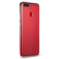 Cover Silicone Trasparente Ultra Sottile Morbida R01 per Huawei Honor V9 Chiaro