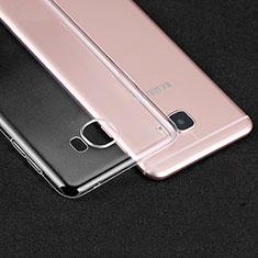 Cover Silicone Trasparente Ultra Sottile Morbida R01 per Samsung Galaxy C7 SM-C7000 Chiaro