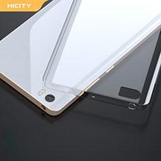Cover Silicone Trasparente Ultra Sottile Morbida R01 per Xiaomi Mi Note Chiaro