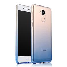 Cover Silicone Trasparente Ultra Sottile Morbida Sfumato per Huawei Honor 6A Blu