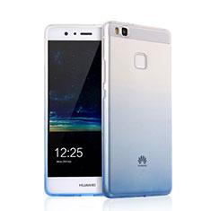 Cover Silicone Trasparente Ultra Sottile Morbida Sfumato per Huawei P9 Lite Nero