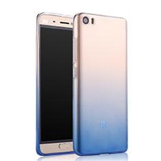 Cover Silicone Trasparente Ultra Sottile Morbida Sfumato per Xiaomi Mi 5 Blu