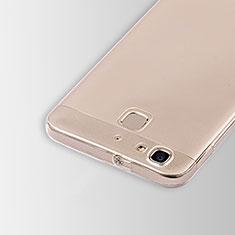 Cover Silicone Trasparente Ultra Sottile Morbida T01 per Huawei Enjoy 5S Chiaro