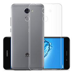 Cover Silicone Trasparente Ultra Sottile Morbida T01 per Huawei Enjoy 7 Plus Chiaro