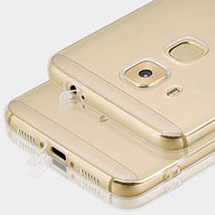 Cover Silicone Trasparente Ultra Sottile Morbida T01 per Huawei G9 Plus Chiaro