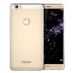 Cover Silicone Trasparente Ultra Sottile Morbida T01 per Huawei Honor V8 Max Chiaro