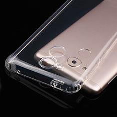 Cover Silicone Trasparente Ultra Sottile Morbida T01 per Huawei Nova Smart Chiaro
