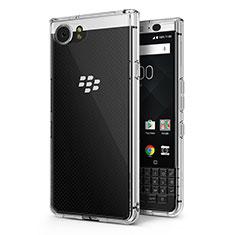 Cover Silicone Trasparente Ultra Sottile Morbida T02 per Blackberry KEYone Chiaro