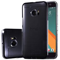 Cover Silicone Trasparente Ultra Sottile Morbida T02 per HTC 10 One M10 Chiaro