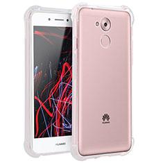 Cover Silicone Trasparente Ultra Sottile Morbida T02 per Huawei Enjoy 6S Chiaro