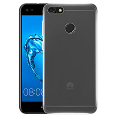 Cover Silicone Trasparente Ultra Sottile Morbida T02 per Huawei Enjoy 7 Chiaro
