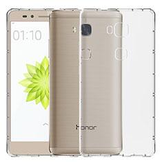 Cover Silicone Trasparente Ultra Sottile Morbida T02 per Huawei GR5 Chiaro