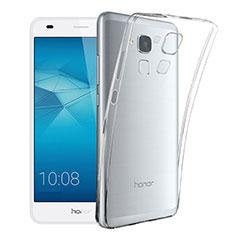 Cover Silicone Trasparente Ultra Sottile Morbida T02 per Huawei GR5 Mini Chiaro