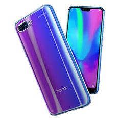 Cover Silicone Trasparente Ultra Sottile Morbida T02 per Huawei Honor 10 Chiaro
