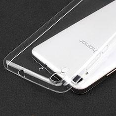 Cover Silicone Trasparente Ultra Sottile Morbida T02 per Huawei Honor 4A Chiaro