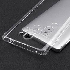 Cover Silicone Trasparente Ultra Sottile Morbida T02 per Huawei Honor 6X Pro Chiaro