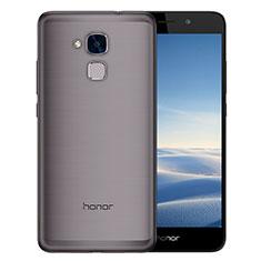 Cover Silicone Trasparente Ultra Sottile Morbida T02 per Huawei Honor 7 Lite Grigio